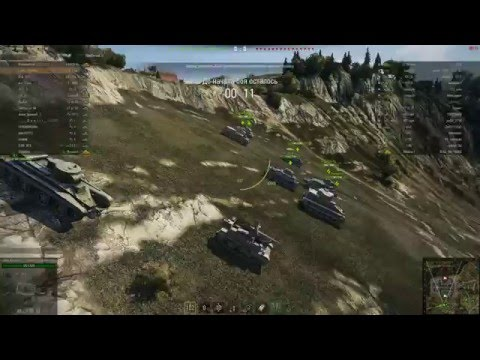 World of Tanks #35 - История ПТ-САУ UC 2-pdr, эээх, брони бы ей !