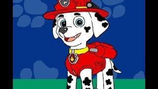 Щенячий патруль пазлы: Маршал (PAW Patrol Marshall Puzzle)