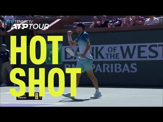 Hot Shot: Thiem's Tremendous Pass Zooms Past Raonic In Indian Wells 2019