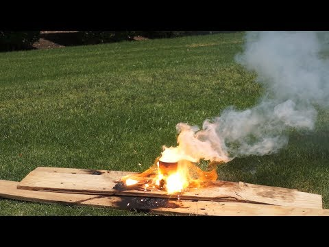 How to Make and Ignite Thermite