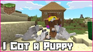 I Got a Puppy / Minecraft Roleplay with Ronald