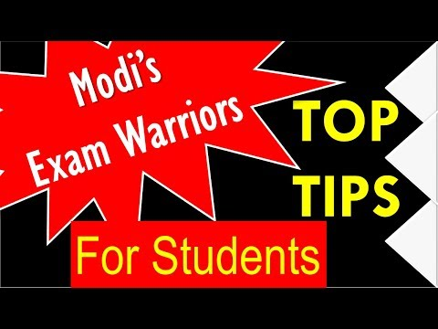 Exam Warriors- Top Tips From Modi's Book For Students Preparing For Exams