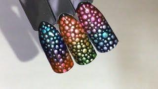 Дизайн ногтей: Экспресс-дизайн витражными гель-лаками