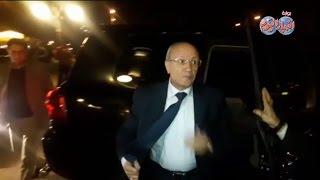 أخبار اليوم | العصار وزير الانتاج الحربي والسعيد وزير النقل يصلان عزاء زوجة الفنان محمد صبحي