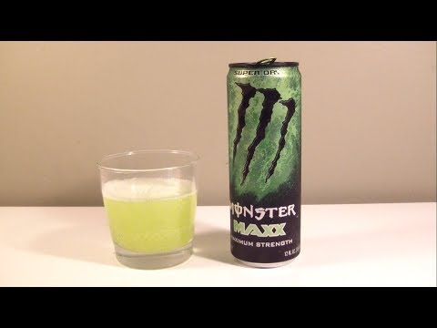 "TPX Reviews - ""Monster Energy: MAXX (Super Dry)"""