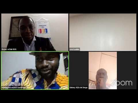 conférence-Economie numérique: enjeux et perspectives, cas du bitcoin et blockchain par Fadoul Sisko