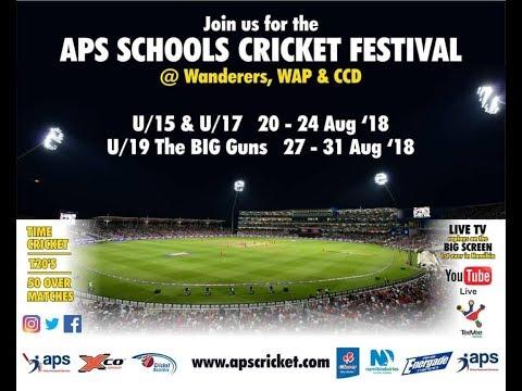 Namibia Cricket Aps Schools Tournament Youtube