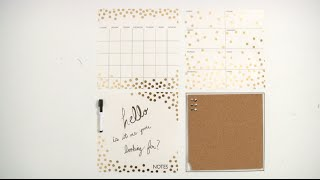 Wall Pops! Organizational Kit - Confetti from Brewster Home Fashions