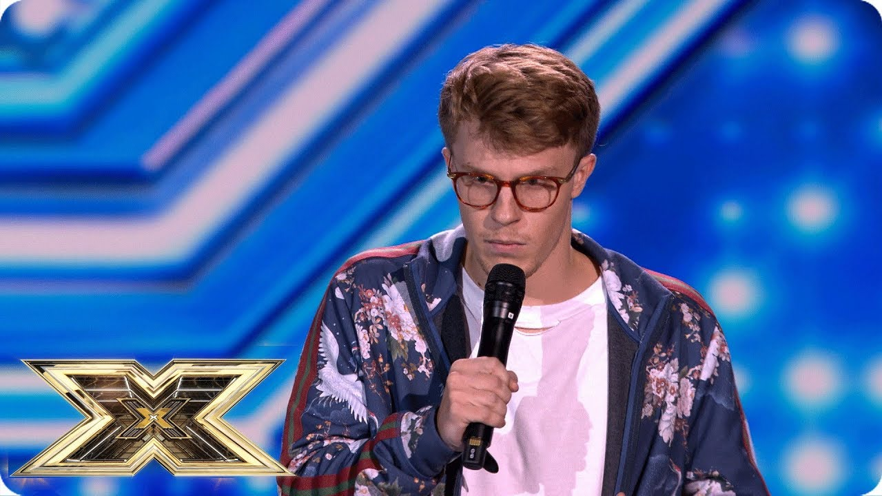 Nathan Grisdale has the face of a fighter! | The X Factor UK 2018