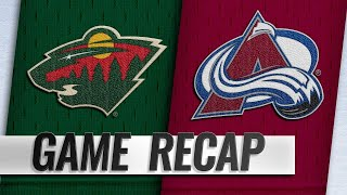 Avalanche open season with 4-1 win against Wild
