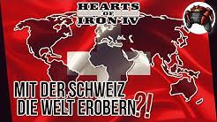 Kann die Schweiz ALLEINE die Welt erobern ? #1 ★ Hearts of Iron IV - Road to 56 Mod Challenge ★