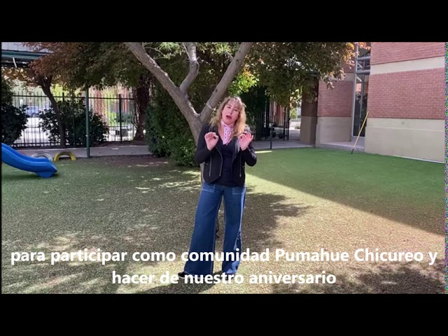 Invitación Aniversario Pumahue Chicureo