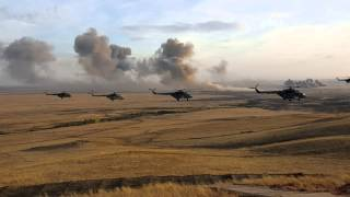 Вертолетный налет в честь Дня оружейника
