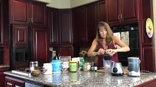 Nutrient Dense Dessert Shake Recipe - Triumph Over Health - Tina Buenzli