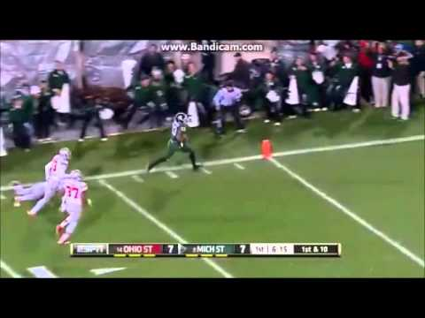 Michigan State football highlights 2014