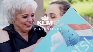 KLM verrast winnaars KLM's Geslaagde Actie!