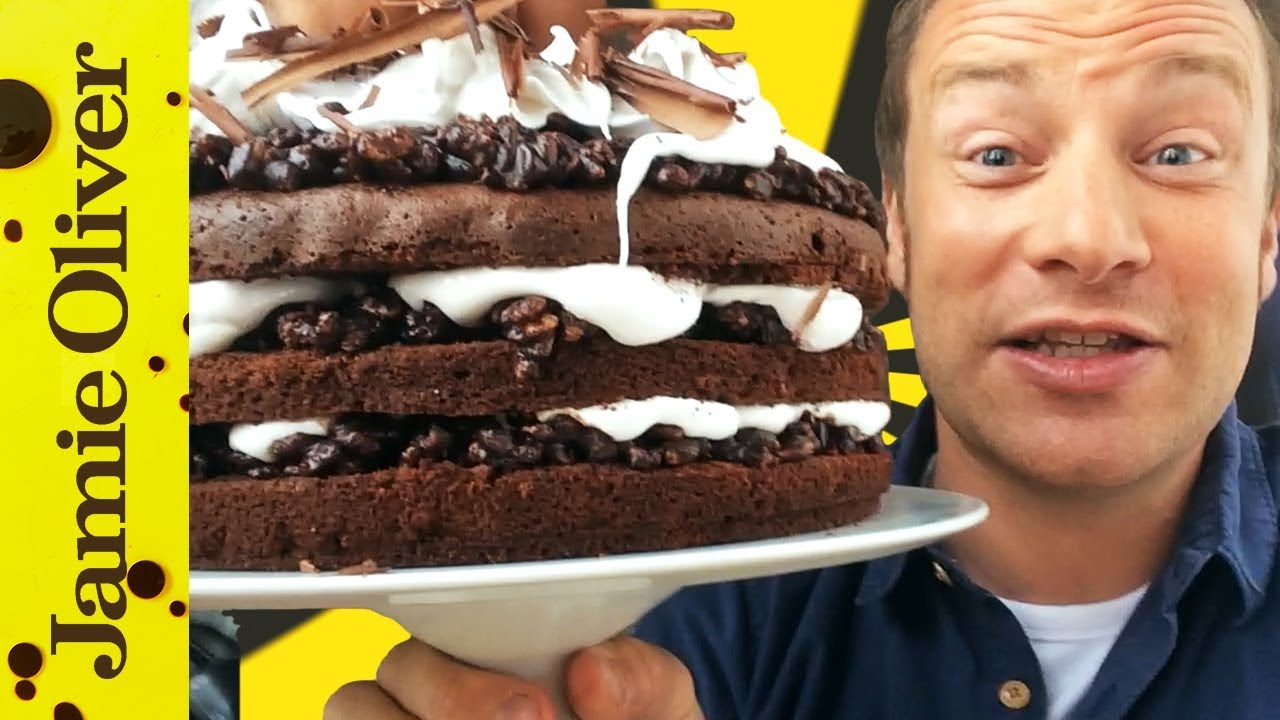 Whats Jamie Eating Today 21 Chocolate Celebration Cake Youtube