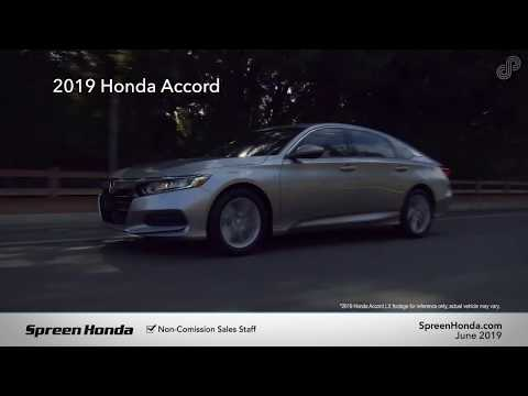 2019 Honda Accord LX - Spreen Honda (June Specials)