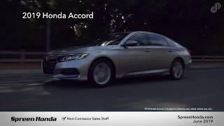 2019 Honda Accord LX - Spreen Honda (June Specials)