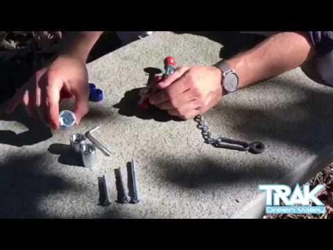 Réglage du système de fixation TRACK by GREEN VALLEY