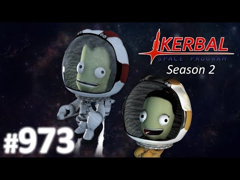 Richtung Krater - Let's Play Kerbal Space Program Season 2 #973 [DEUTSCH] [HD+]