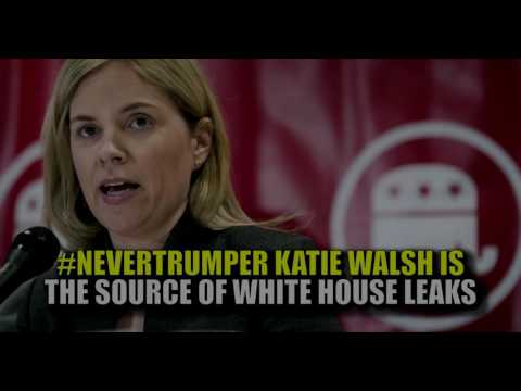 Trump Admin Deputy Chief of Staff Katie Walsh Leaker flushed out And EXPOSED!