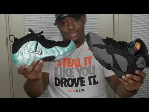 ISLAND GREEN NIKE FOAMPOSITE PRO REVIEW / COMPARE VIDEO 🔥🔥🔥 #HEAT