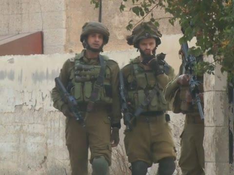 Raw: Israelis Step Up West Bank Patrols, Raids