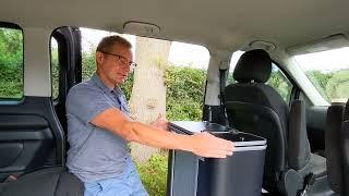 How to fit a Vangear Nano camper van pod into a Mercedes Vito-Vclass