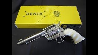 Denix 1873 western Frontier pistol non firing replica cap gun colt 45 peacemaker