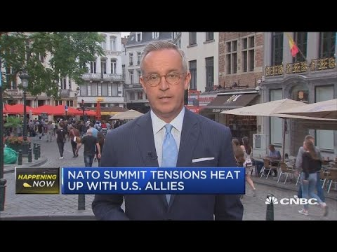 NATO tensions heat up as Germany responds to Trump criticism