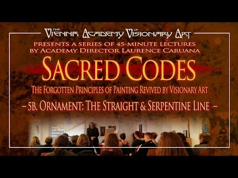 The L. Caruana Sacred Codes Series – 5b. Ornament: The Straight & Serpentine Line through History