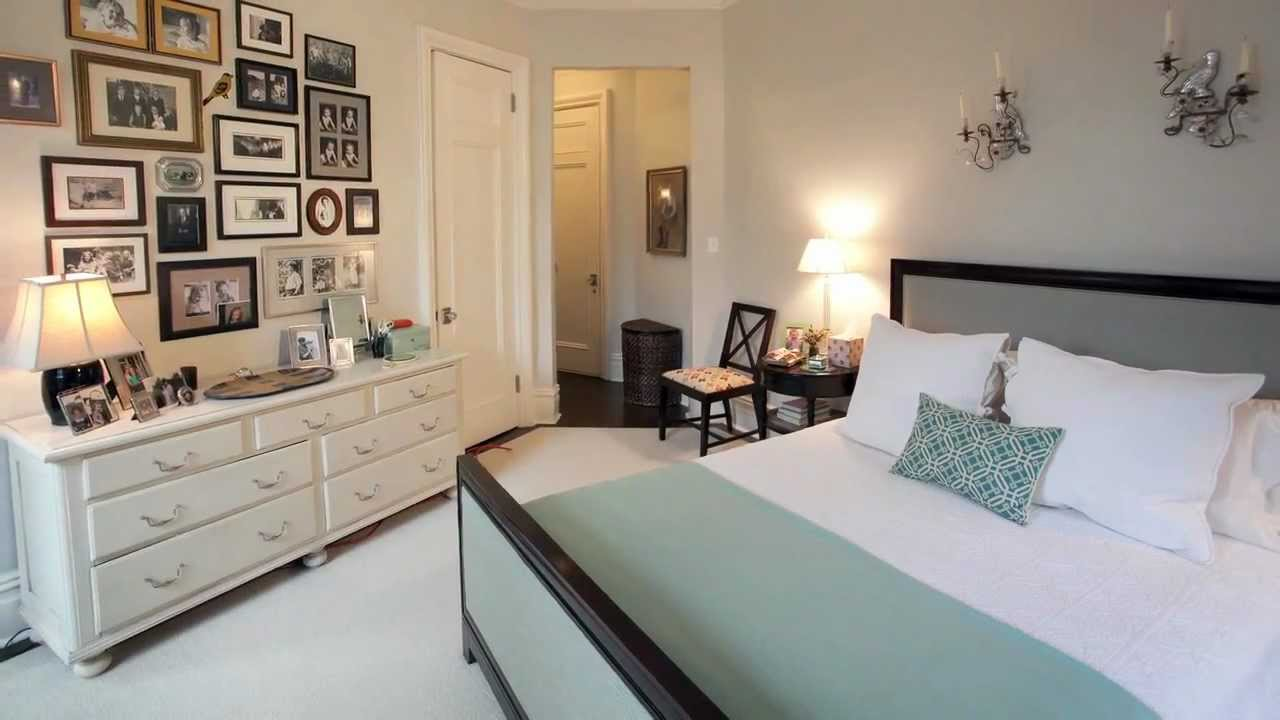 How to decorate your master bedroom home d cor youtube for Bedroom ideas hanging pictures