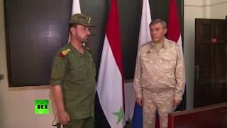 Глава Генштаба России вручил наградное оружие сирийскому генералу за высадку десанта в тыл ИГ