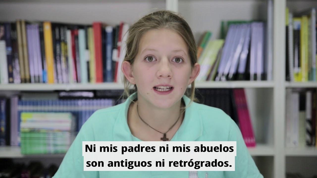 Niña explica el adoctrinamiento LGBT que están sufriendo en las escuelas (S.O.S)