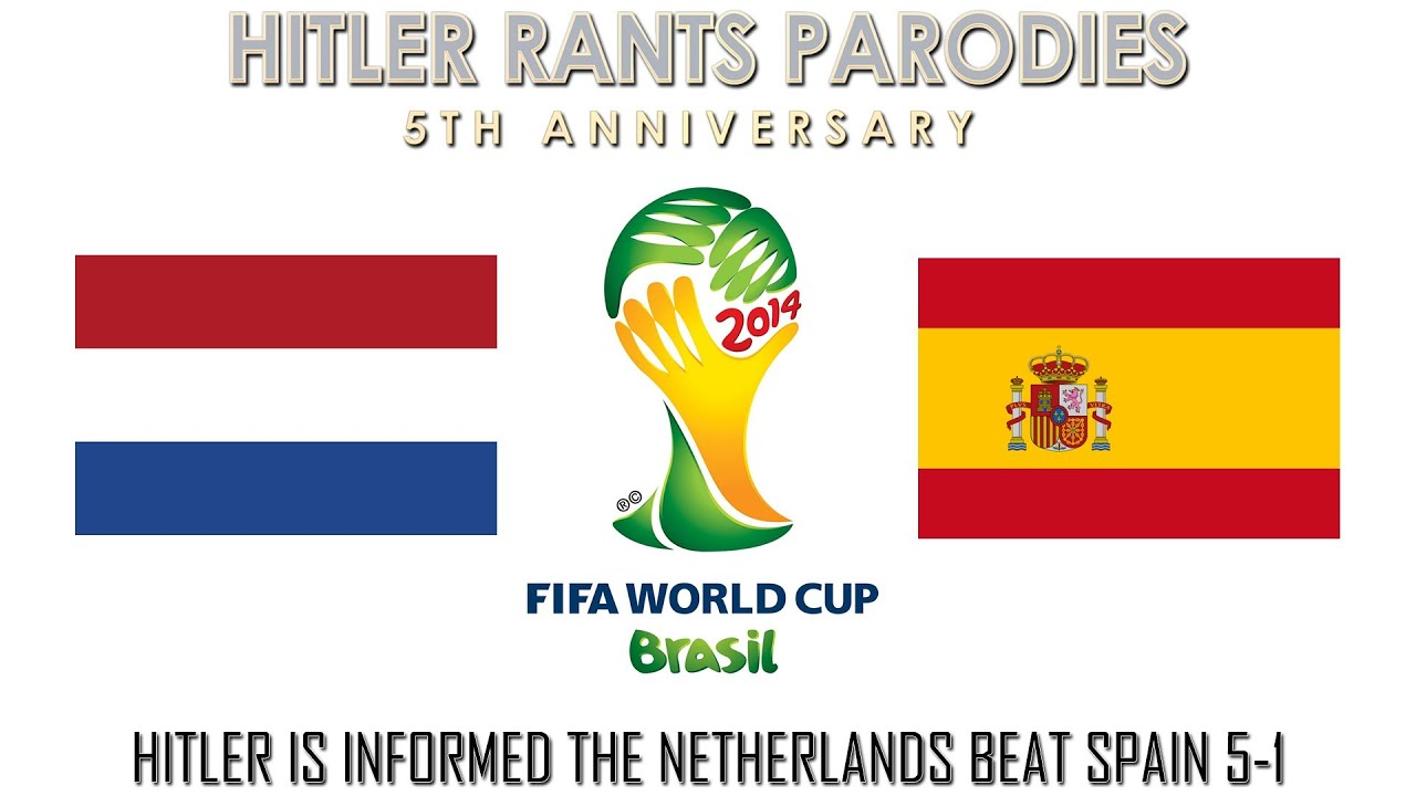 Hitler is informed the Netherlands beat Spain 5-1