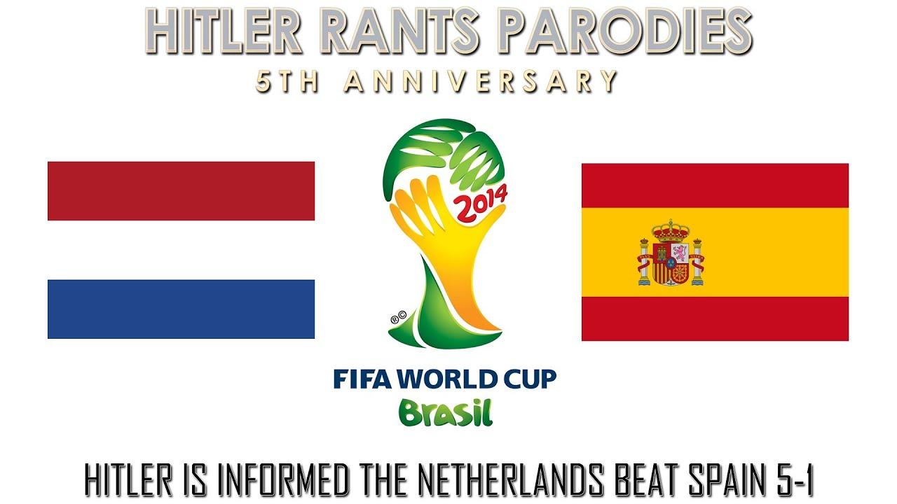 Hitler is informed the Netherlands beat Spain 5-1