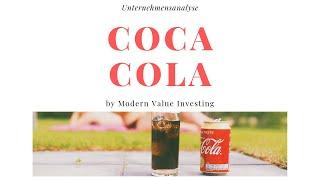 Coca Cola - Unternehmensanalyse - Modern Value Investing