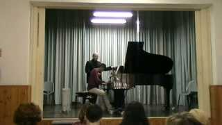 Ran Zemach Masterclass on Brahms Rhapsody op. 79 no. 2