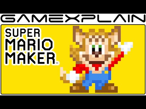 Nekki Costume Trailer in Super Mario Maker (Famitsu Mascot)