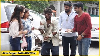 Rich Beggar Prank With SUV ,iPhone & Manager ft. The HunGama Films | RDS Production | Prank in India