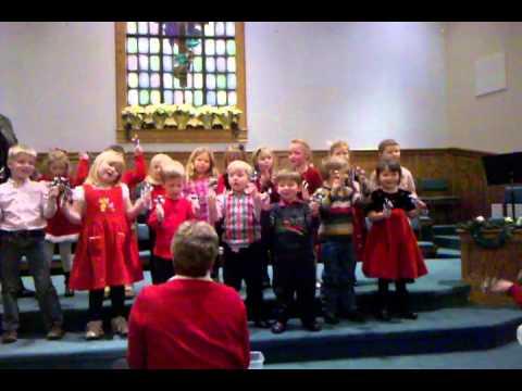 Marble Elementary School N.C. Christmas Program-3