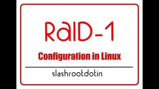 Software RAID1 Configuration and Data Recovery Testing