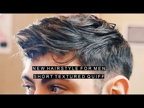 New Textured Hairstyle For Men