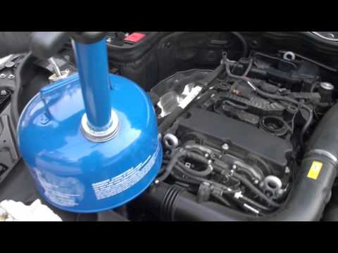 Oil Change 2012 Mercedes C250