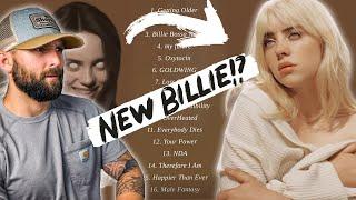 """Happier Than Ever"" - Billie Eilish   FULL ALBUM REACTION"