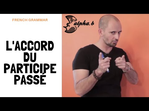 Accords du participe passé avec être et avoir - French past participle - Free french lesson