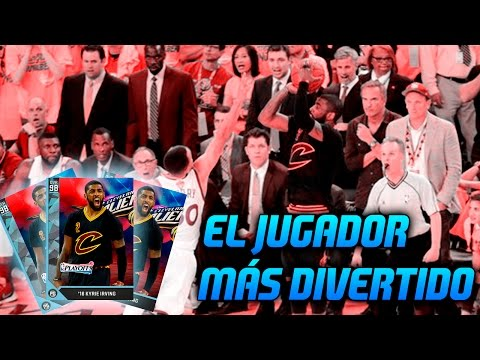 ¿EL JUGADOR MÁS DIVERTIDO? KYRIE IRVING MEDIA 98 PLAYOFFS!! | NBA 2K16 MyTEAM