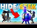 INSANE HIDE AND SEEK IN TILTED TOWERS   Fortnite Battle Royale