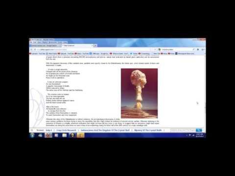 Ancient Nuclear Warfare?